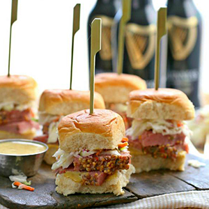 Corned Beef Sliders With Guinness Mustard Recipe