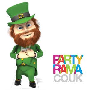 Leprechaun Cardboard Cutout - St Patricks Day Crafts