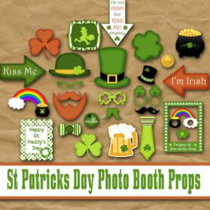 Photo Props - St Patricks Day Crafts Decorations