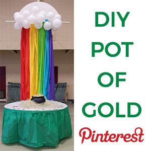 DIY Pot Of Gold - St Patricks Day Decorations