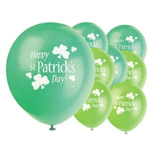 St Patricks Day Balloons from Partyrama