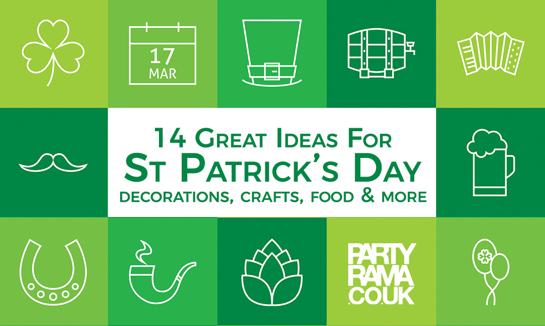 14 Great Ideas For St Patricks Day Crafts, Decorations And More