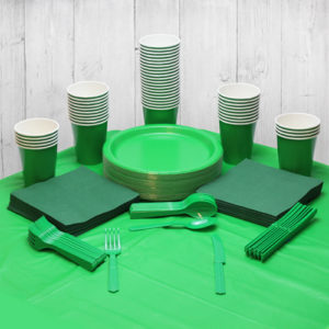 Green St Patricks Tableware from Partyrama