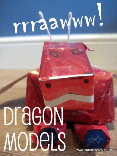 Welsh Dragon Models