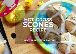 Easter Hot Cross Scones Recipe