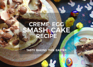 Smashed Creme Egg Cake Recipe