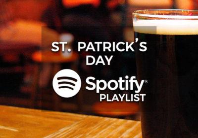 St Patrick's Day Party Music - Spotify Playlist