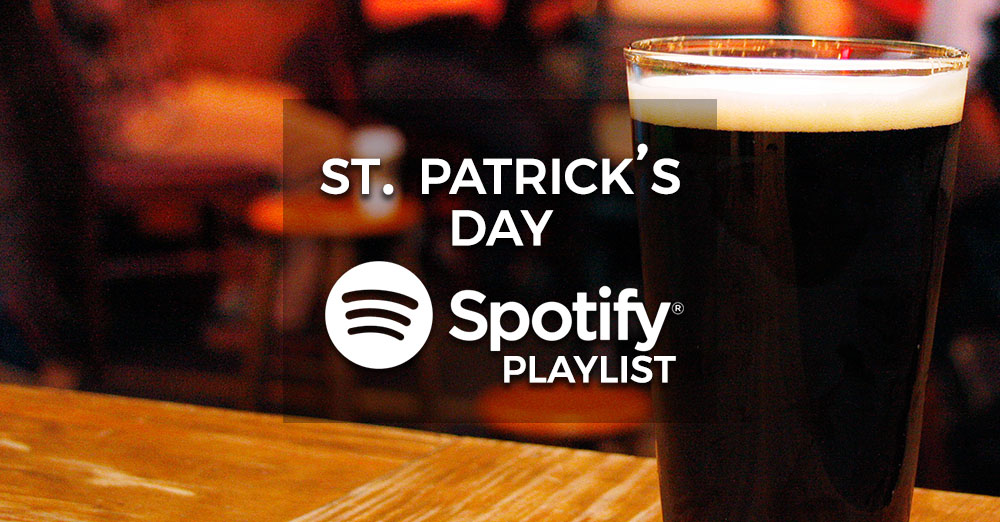 St Patrick's Day Party Music - Spotify Playlist