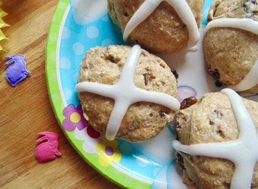 Easter Hot Cross Scones