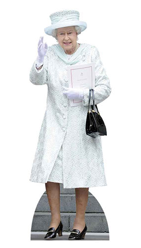 Queen Elizabeth Lifesize Cutout