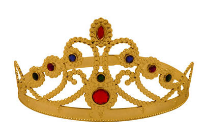 Queens Golden Crown from Partyrama