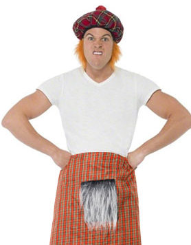 Scottish Tartan Fancy Dress
