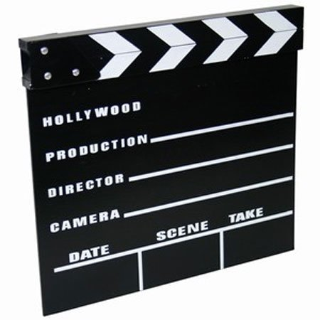 Small Clapperboard at Partyrama
