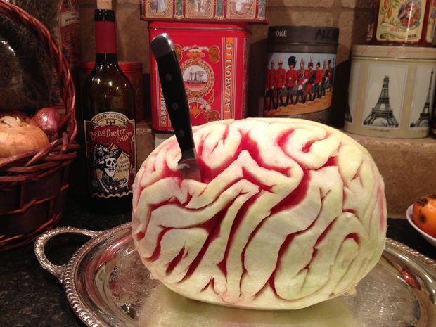 Watermelon Brain - Unique Halloween Party Ideas