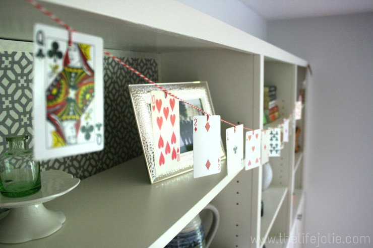 DIY Playing Card Garland