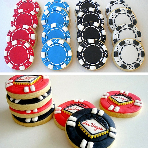 Poker Chip Cookies