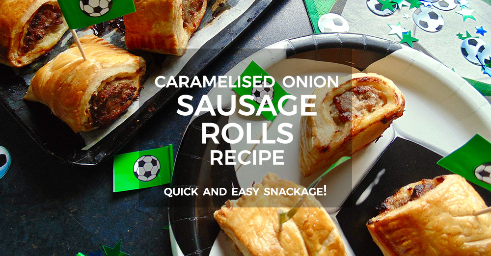 Caramelised Onion Sausage Rolls
