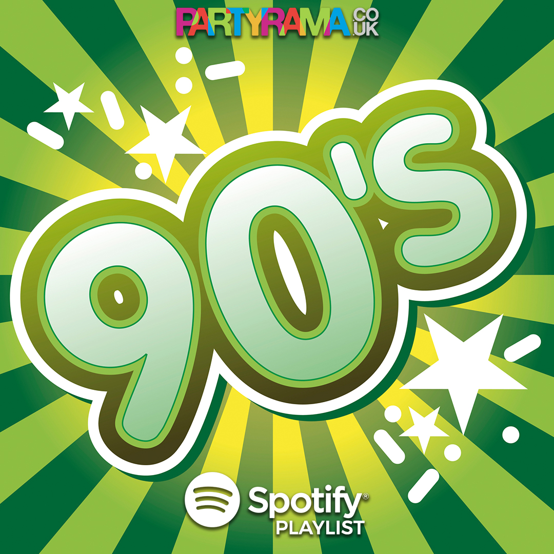 1990's Party Music - Spotify Playlist