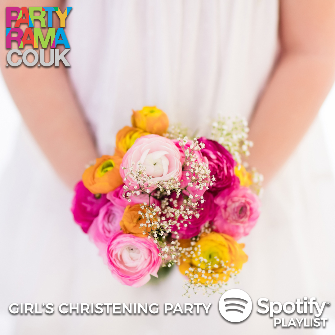 Girl's Christening Music - Spotify Playlist