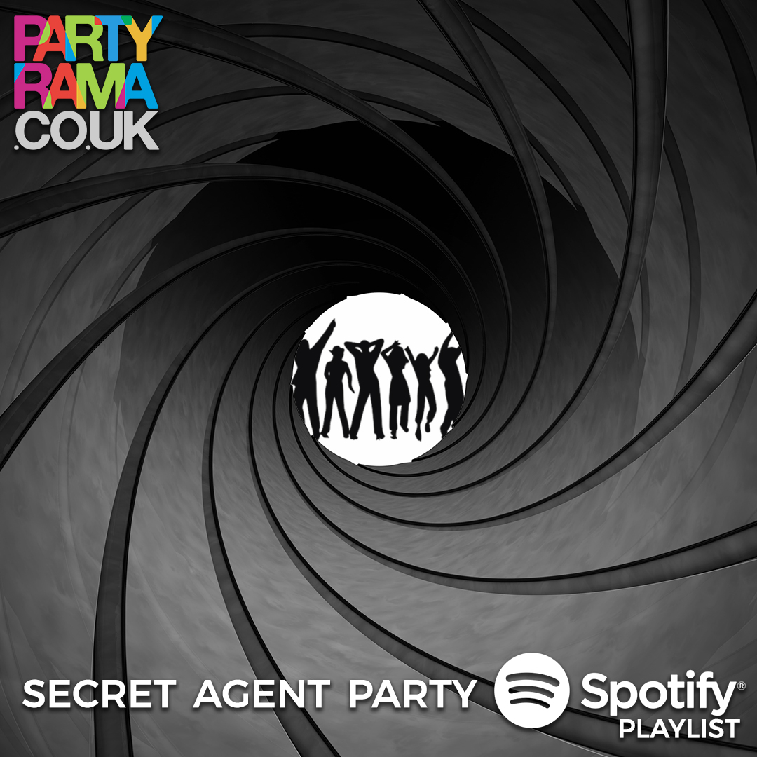 Secret Agent Party Music - Spotify Playlist