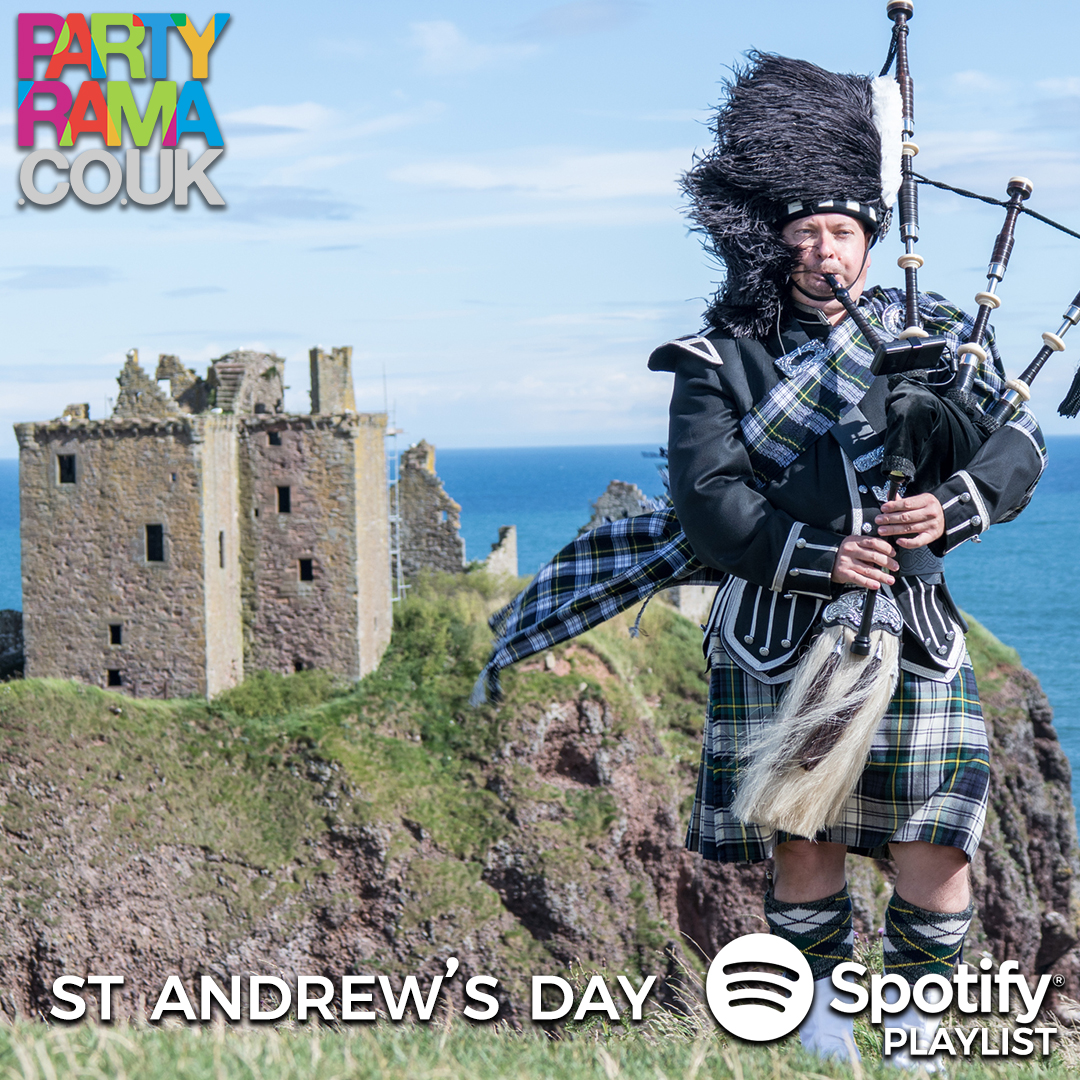 St Andrew's Day Music - Spotify Playlist