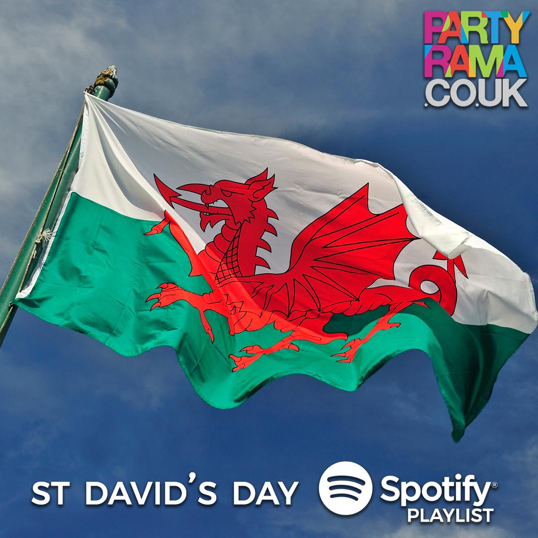 St David's Day Music - Spotify Playlist