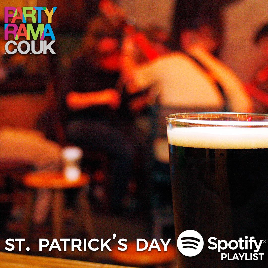 St Patrick's Day Music - Spotify Playlist