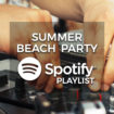 Summer Beach Party Music - Spotify Playlist
