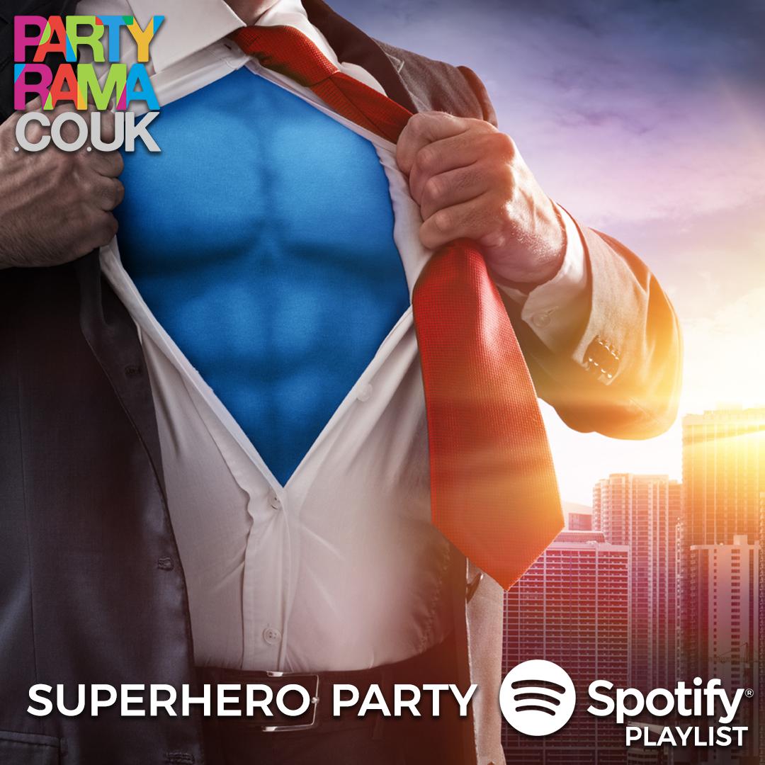 Superhero Party Music - Spotify Playlist