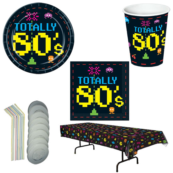 Totally 80's Party Pack by Partyrama