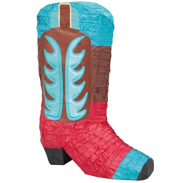 Cowboy Boot Pinata by Partyrama