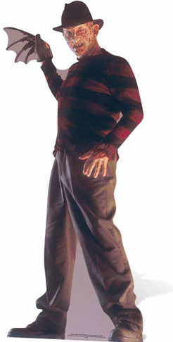 Freddy Krueger Lifesize Cutout by Partyrama