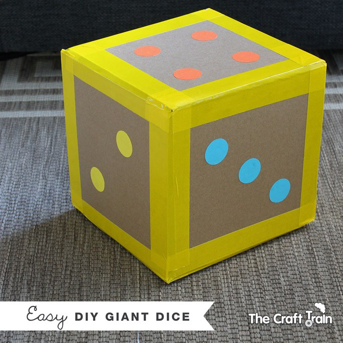 DIY Giant Dice