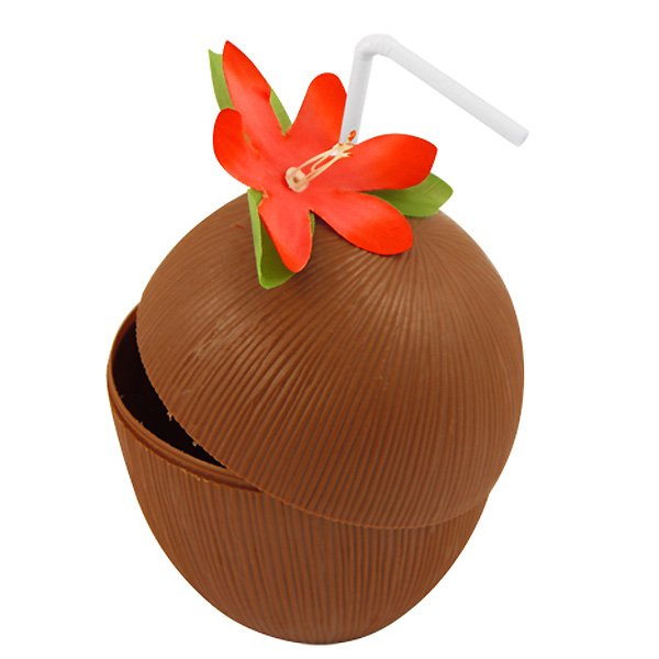 Hawaiian Coconut Cup by Partyrama