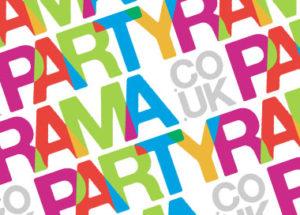 Partyrama Logo Post Header Wallpaper Style