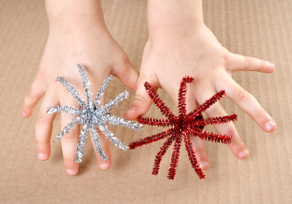 Fireworks Ring Crafts - Bonfire Night Party Ideas