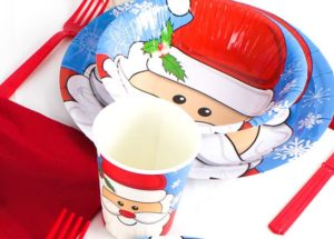 Christmas Santa Tableware from Partyrama