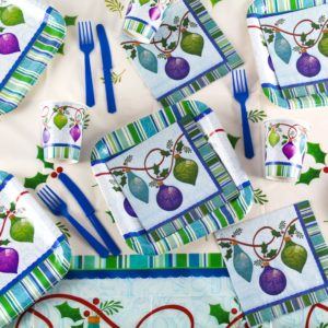 Lovely Ornaments Christmas Tableware from Partyrama
