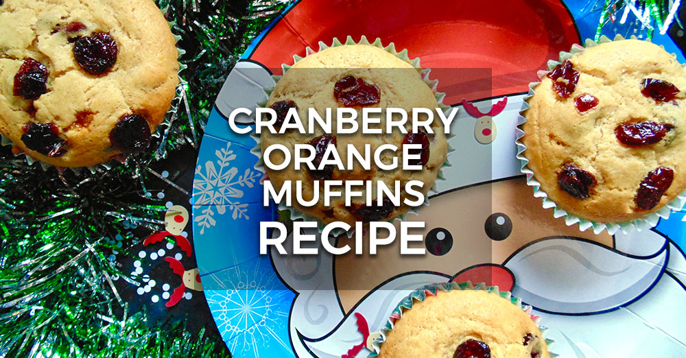 Cranberry Orange Christmas Muffins Recipe