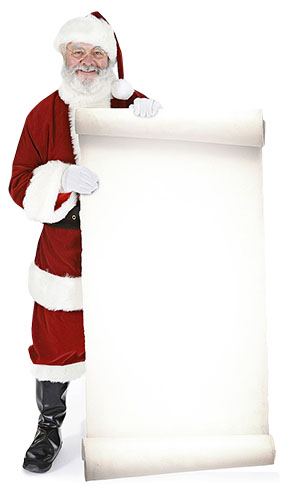 Santa Lifesize Cutout by Partyrama