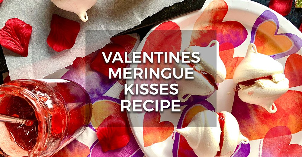 Valentine's Meringue Kisses Recipe