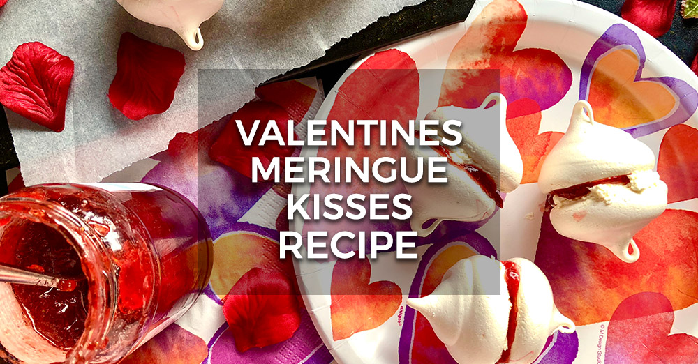 Valentine's Meringue Kisses Recipe