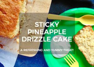 Sticky Pineapple Drizzle Cake Recipe