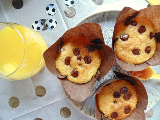 Chocolate Chip Marmalade Muffins Recipe