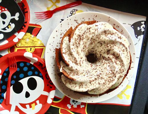 Spiced Vanilla Glazed Rum Cake Recipe