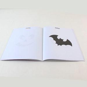 Halloween Stencil Book