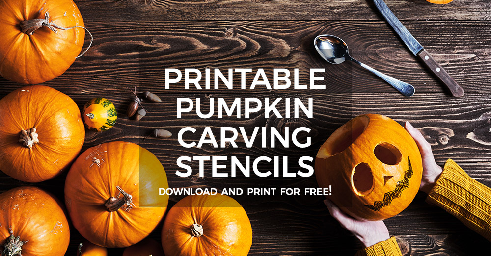 Free Printable Pumpkin Carving Stencils for Halloween