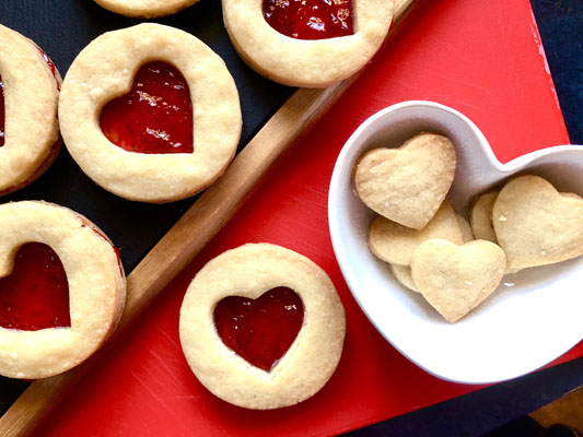 Valentine's Jammy Dodger Recipe