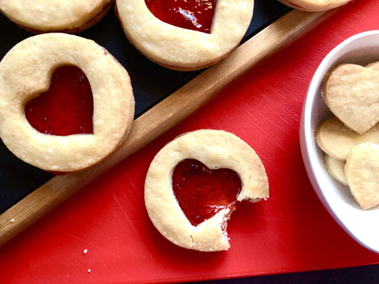 Valentine's Shortbread Recipe